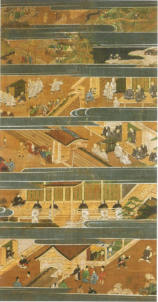 絹本著色 親鸞聖人伝絵 四幅